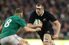 All Blacks lock Brodie Retallick doesn't know any England players' names