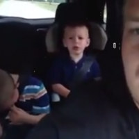 Little boy learns one of life's hardest lessons