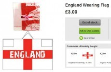 Asda defends selling wearable flag likened to a 'KKK hood'