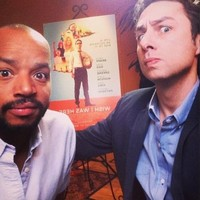 Zach Braff and Donald Faison sang Guy Love at a film screening