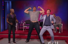 The Gronk went on 'Whose Line Is It Anyway' to bench press and dance -- it was pretty cringetastic