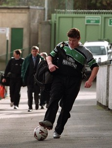 BOD looking forward to skiing, 5-a-side and keeping 'reasonably' fit as he tests out his chair on Off The Ball