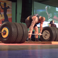 The Mountain from Game of Thrones can lift 71 stone in weight