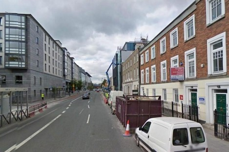 Pearse Street in Dublin (File photo)