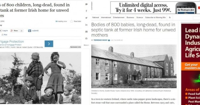 The world is talking about Tuam's 800 dead babies
