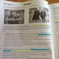 Sherlock came up in today's Junior Cert English exam
