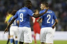 Italy follow up their draw against Ireland with another tie... against Luxembourg