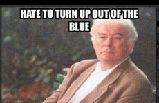 7 reasonable reactions to Seamus Heaney's WTF appearance on English Paper I