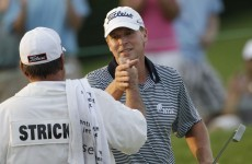 In the swing: the curious case of Steve Stricker