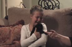Little girl getting a surprise puppy will make you bawl
