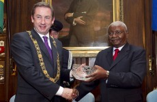 63 Dublin City councillors were invited to meet the President of Mozambique - three showed up
