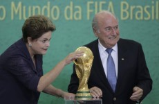 Blatter and FIFA 'confident' Brazil World Cup will be a success