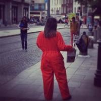 Orange is the New Black has taken over Dublin this morning