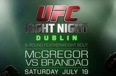 UFC Dublin tickets sell out almost immediately after going on general sale
