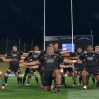New Zealand and Samoa had a war dance-off at the JWC