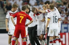 The Marco Reus photo that has German football fans worried tonight