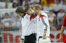 Six goals for Germany but Reus injury threatens World Cup ambitions