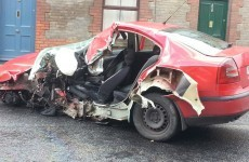 Man dies after hijacked taxi crashes into a pole in Dublin City