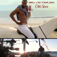 Footage shows Old Spice 'I'm on a horse' ad was all filmed in one take