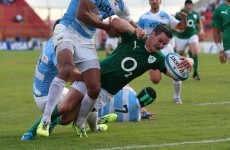 Your Sexton on fire highlights from Ireland's win over Argentina