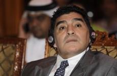 Diego Maradona slams FIFA 'bribes'
