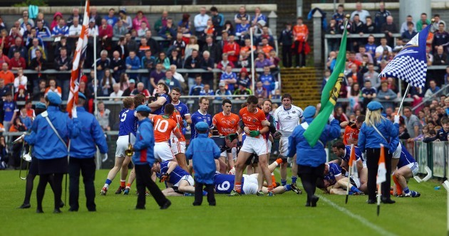 Mass brawl as Armagh beat Cavan in the Ulster SFC quarter-final