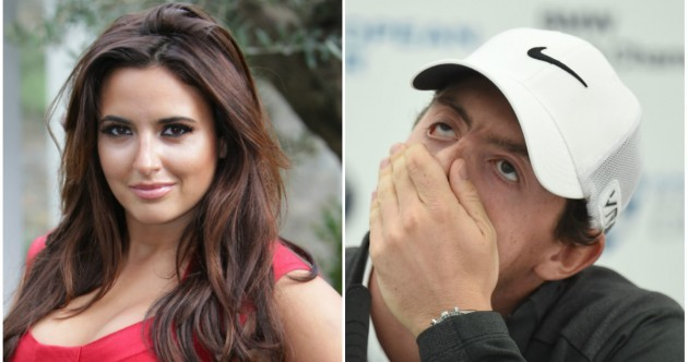 Nadia Forde denies that she is Rory McIlroy's new squeeze... it's The Dredge