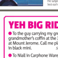 Kildare woman's inappropriate personal ad puts the 'fun' in funeral