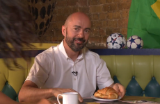 Good news, everybody: James Richardson has his croissants and coffee out for the World Cup