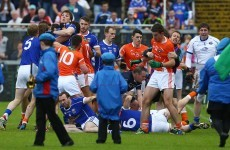 Cavanagh expects sanctions after 'nonsense' in Armagh Cavan parade brawl