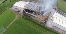 This fire at a Waterford industrial estate took almost 24 hours to put out