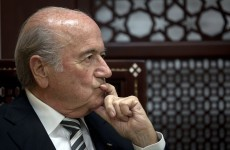 Sepp Blatter thinks the Qatar World Cup allegations are all a bit racist