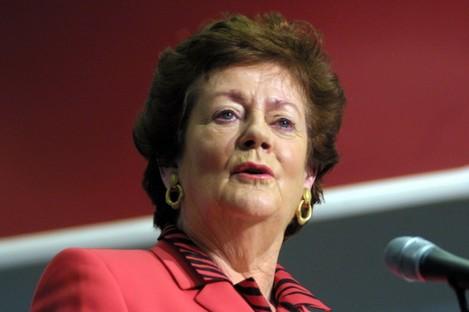 Former Fianna Fáil Minsiter Mary O'Rourke