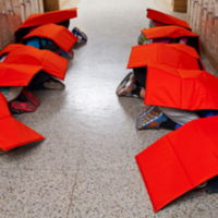 An American company is now selling a bulletproof blanket to kids