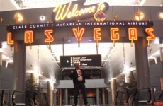 Man gets stuck at airport overnight, makes amazing music video
