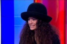 Lorde wore this hat on the One Show yesterday and left everybody confused