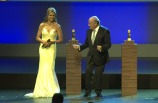 Sepp Blatter dancing with Fernanda Lima made us weep tears of football shame
