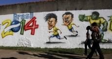 Big Phil and little Neymar ready to carry hopes of a nation at the World Cup