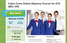 Can you get a Ryanair cabin crew job with this €19 diploma?