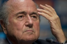 Football on Jupiter, Mars or Saturn? Sepp Blatter thinks it could happen some day