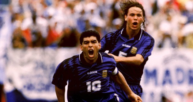 The greatest World Cup tragedies: Diego Maradona, USA 1994