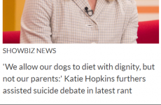 Unfortunate Katie Hopkins-related typo in Closer magazine