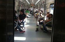 15 years after they started building it, the tram in Salvador opened yesterday and we were on board