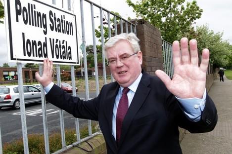 Outgoing Labour leader Eamon Gilmore