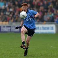 Dublin's Conor McHugh was the best U21 footballer in the country in 2014