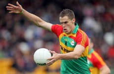 Brendan Murphy IS home for the summer but there's no place for him in the Carlow team