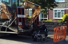 Wheelchair-user hospitalised after incident at water meter protest in Raheny