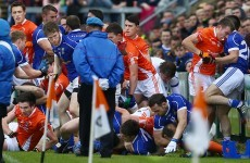 Armagh and Cavan hit with €5,000 fines and 5 players suspended after parade brawl