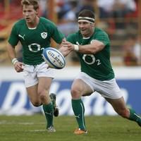 McFadden handed Ireland's 13 shirt as Schmidt makes eight changes