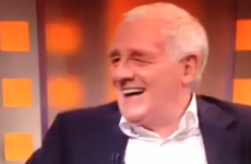 Eamon Dunphy:  'If England reach the quarter-finals, I'll show up with a dress on'
